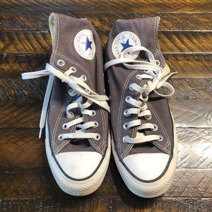 Gray Converse Women's 9